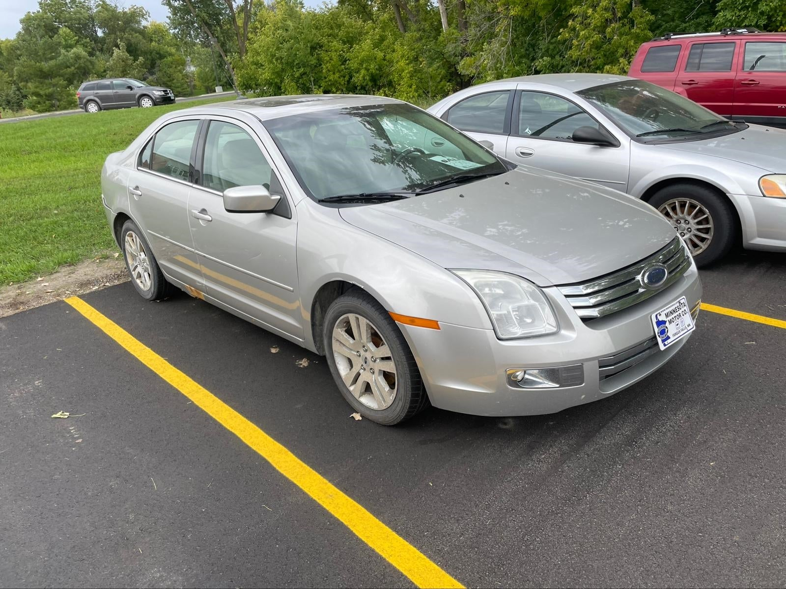 Used 2008 Ford Fusion SEL with VIN 3FAHP08158R205665 for sale in Fergus Falls, Minnesota